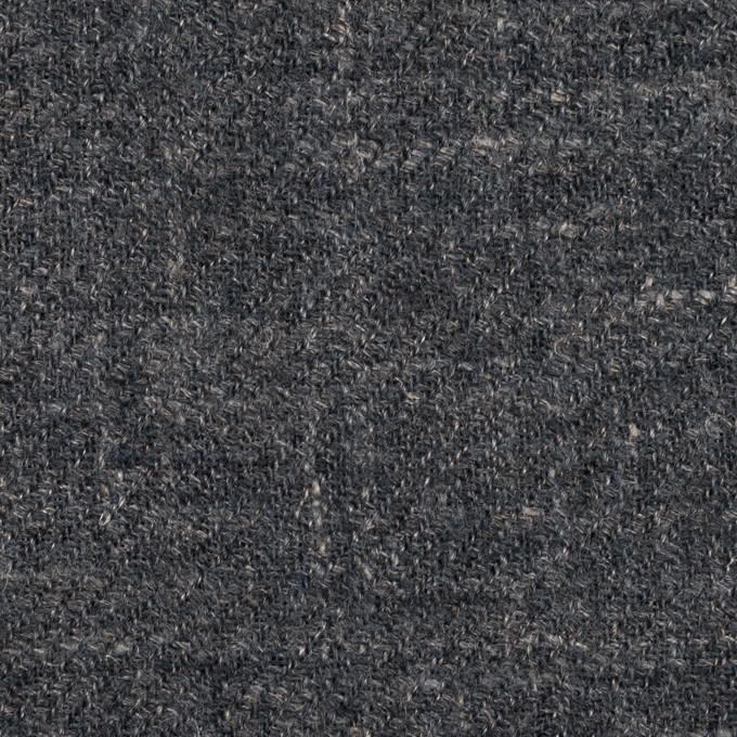 ウール×ミックス(ブルー・グレー)×ガーゼ イメージ1