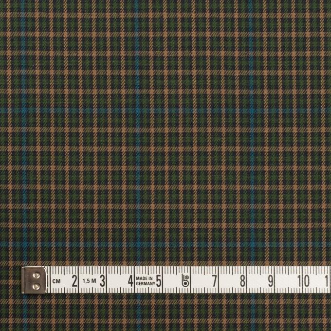 コットン×チェック(グリーン、ブルー&ベージュ)×ビエラ イメージ4