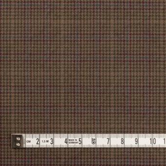 コットン×チェック(アッシュブラウン、ワイン&グリーン)×キャンバス・ワッシャー サムネイル4