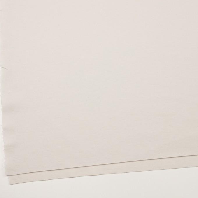 ウール×無地(アイボリー)×圧縮ニット イメージ2