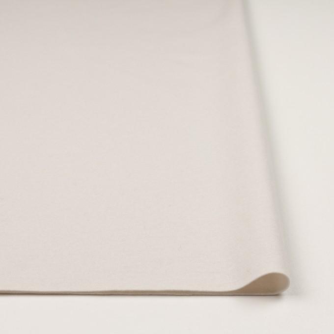 ウール×無地(アイボリー)×圧縮ニット イメージ3