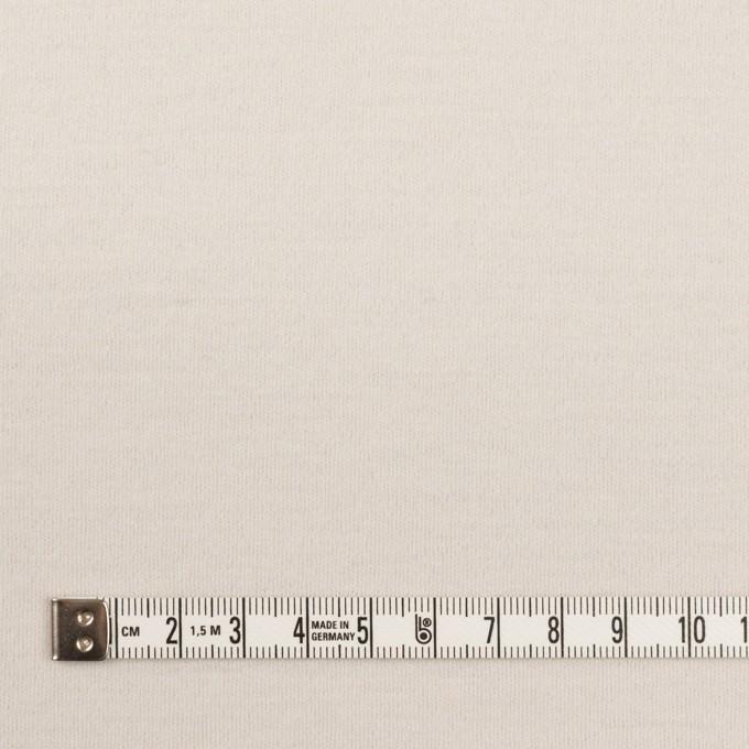 ウール×無地(アイボリー)×圧縮ニット イメージ4