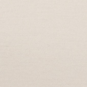 ウール×無地(アイボリー)×圧縮ニット