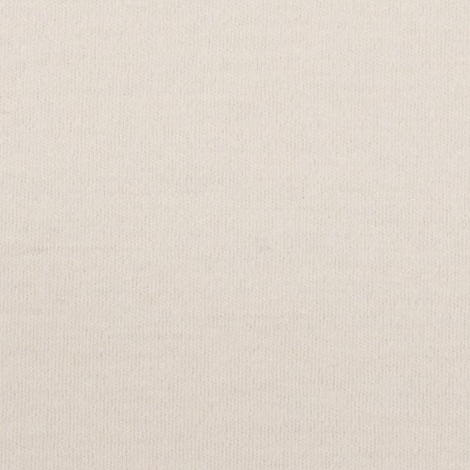 ウール×無地(アイボリー)×圧縮ニット イメージ1