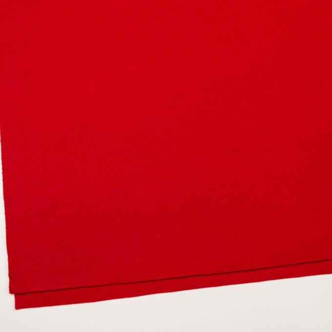 【120cmカット】ウール×無地(レッド)×圧縮ニット イメージ2