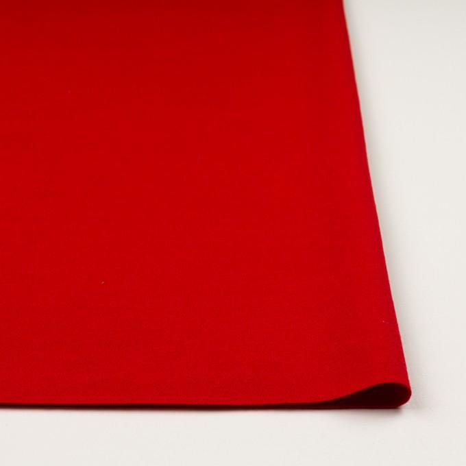 【120cmカット】ウール×無地(レッド)×圧縮ニット イメージ3