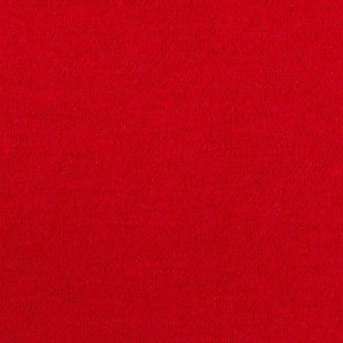 【120cmカット】ウール×無地(レッド)×圧縮ニット イメージ1