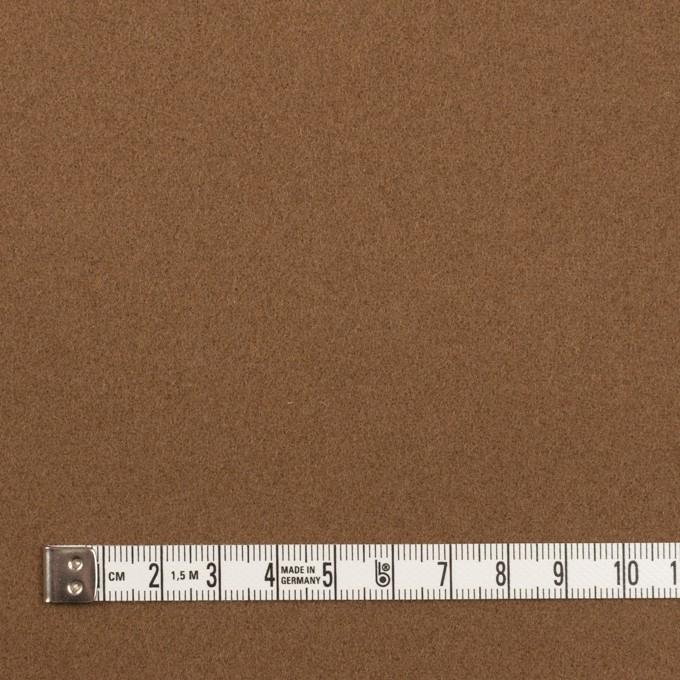 ウール×無地(ジンジャー)×ソフトメルトン イメージ4