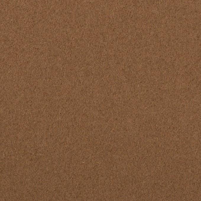 ウール×無地(ジンジャー)×ソフトメルトン イメージ1