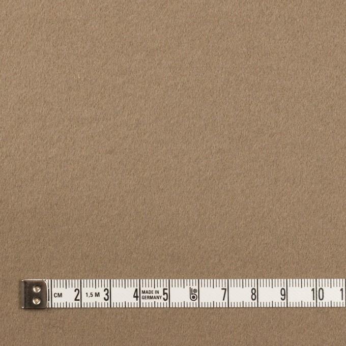 ウール×無地(アッシュカーキ)×Wフェイス・ビーバー イメージ4