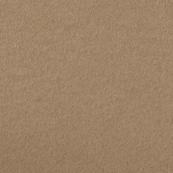ウール×無地(アッシュカーキ)×Wフェイス・ビーバー イメージ1