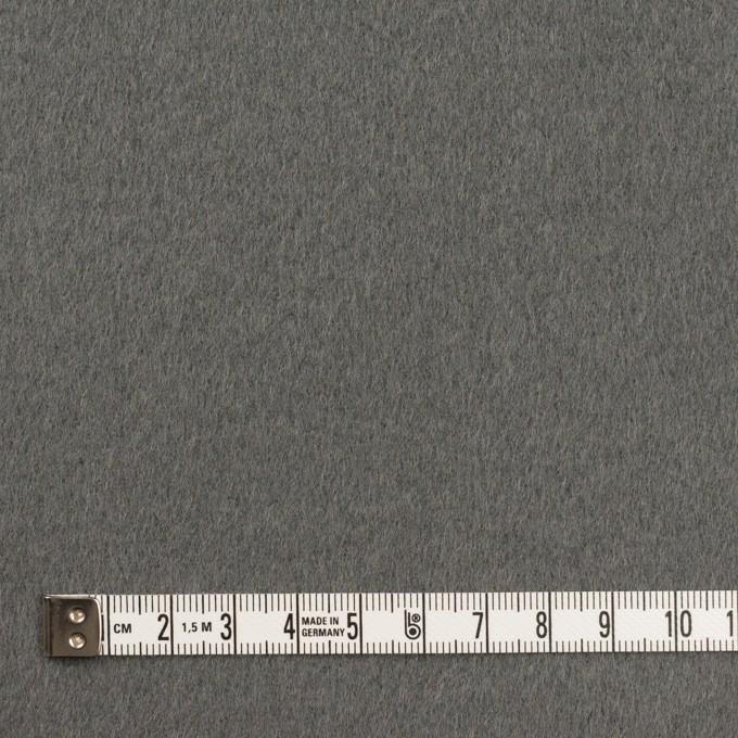 ウール×無地(スレートグレー)×Wフェイス・ビーバー イメージ4