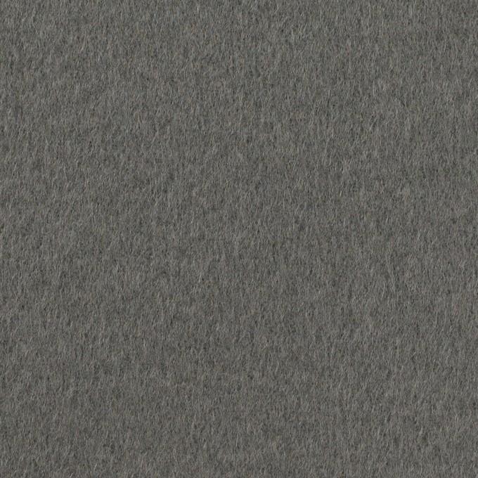 ウール×無地(スレートグレー)×Wフェイス・ビーバー イメージ1