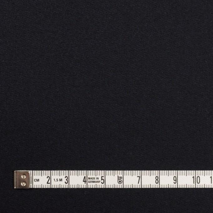 ウール×無地(ダークネイビー)×Wフェイス・カルゼ イメージ4
