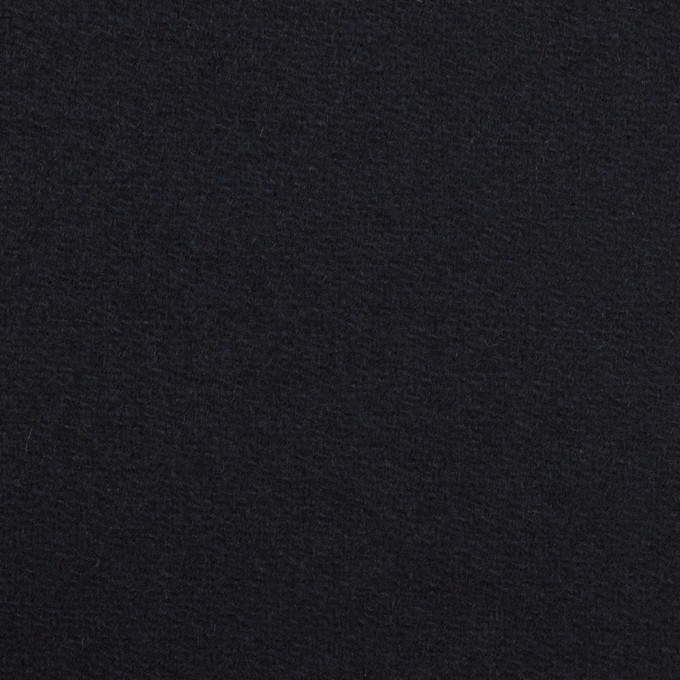 ウール×無地(ダークネイビー)×Wフェイス・カルゼ イメージ1