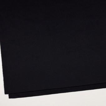 ウール&カシミア×無地(ブルーブラック)×ビーバー サムネイル2