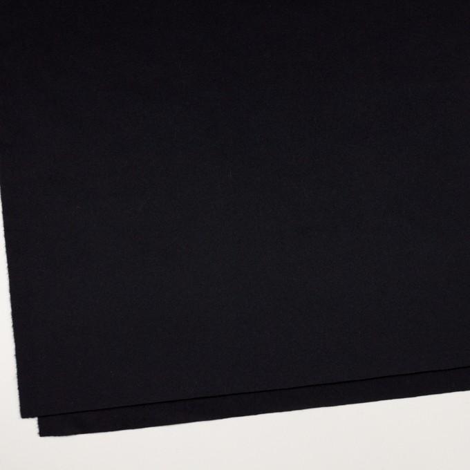 ウール&カシミア×無地(ブルーブラック)×ビーバー イメージ2