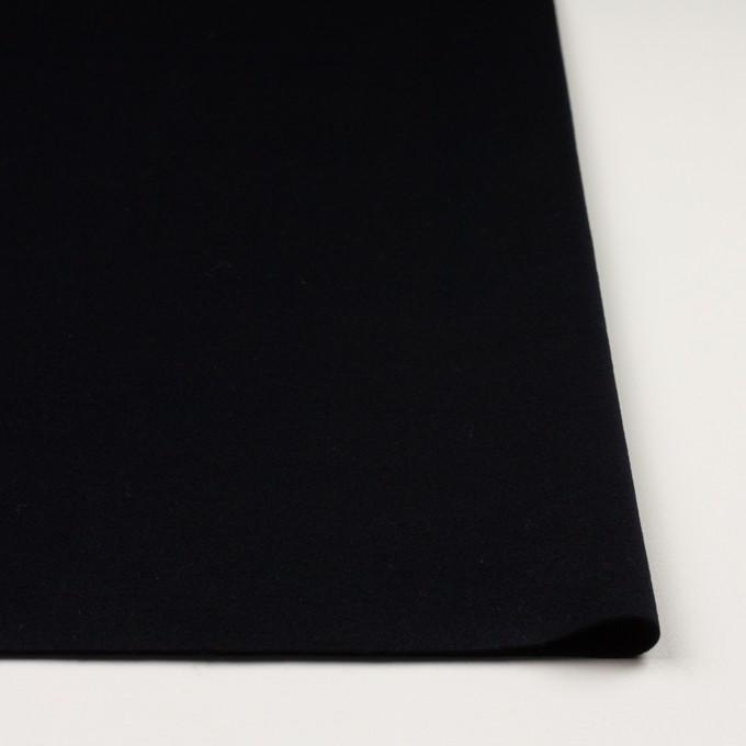 ウール&カシミア×無地(ブルーブラック)×ビーバー イメージ3