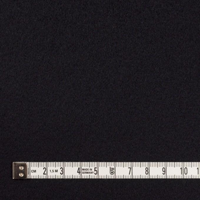 ウール&カシミア×無地(ブルーブラック)×ビーバー イメージ4