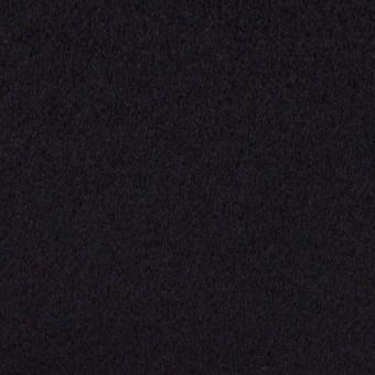 ウール&カシミア×無地(ブルーブラック)×ビーバー