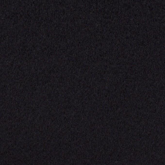 ウール&カシミア×無地(ブルーブラック)×ビーバー イメージ1
