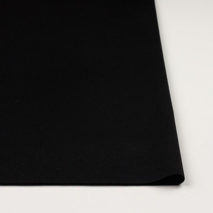 ウール×無地(ブラック)×ビーバー イメージ3