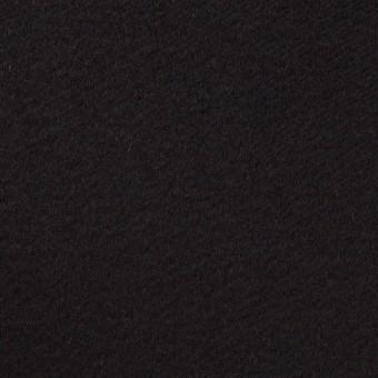 ウール×無地(ブラック)×ビーバー