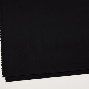 ウール&カシミア×無地(ブラック)×ソフトメルトン サムネイル2