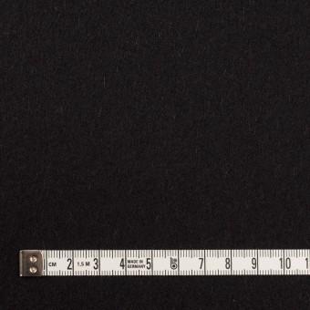 ウール&カシミア×無地(ブラック)×ソフトメルトン サムネイル4