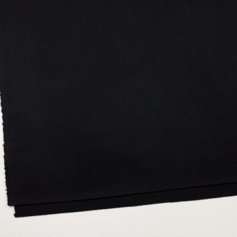 ウール×無地(ブラック)×Wフェイス・カルゼ サムネイル2