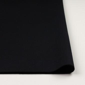 ウール×無地(ブラック)×Wフェイス・カルゼ サムネイル3