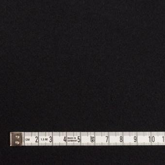 ウール×無地(ブラック)×Wフェイス・カルゼ サムネイル4