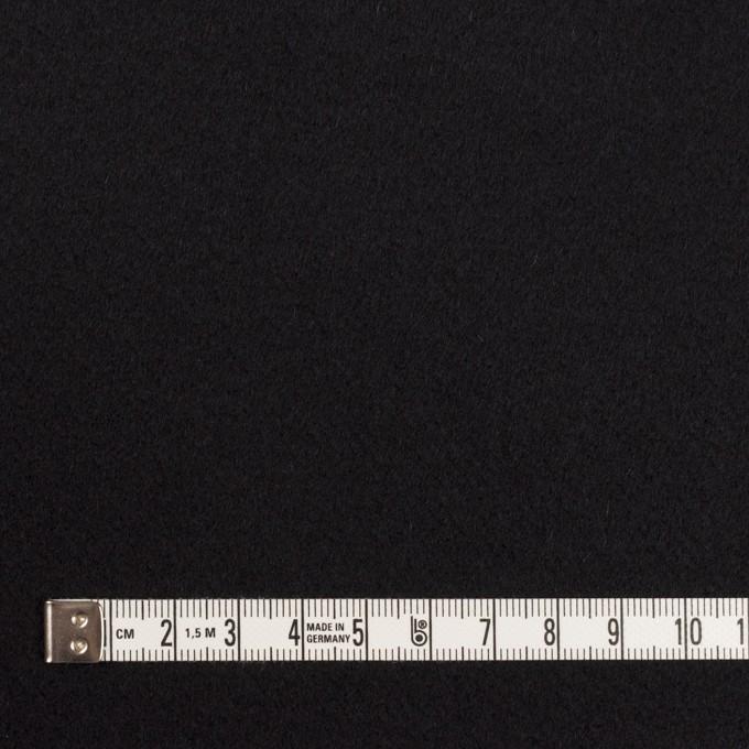 ウール×無地(ブラック)×Wフェイス・カルゼ イメージ4