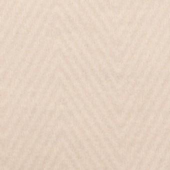 ウール&ポリエステル×無地(エクリュ)×かわり編み