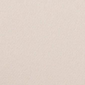 ウール×無地(ミルク)×Wフェイス・カルゼ