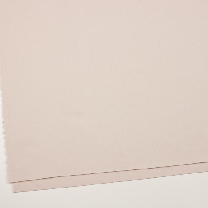 ウール&ナイロン×無地(アンバーホワイト)×フラノ(フランネル) イメージ2