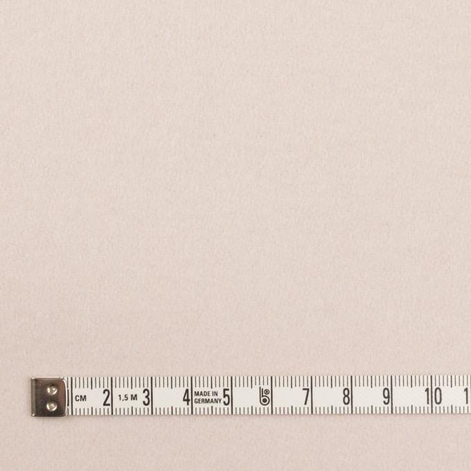 ウール&ナイロン×無地(アンバーホワイト)×フラノ(フランネル) イメージ4