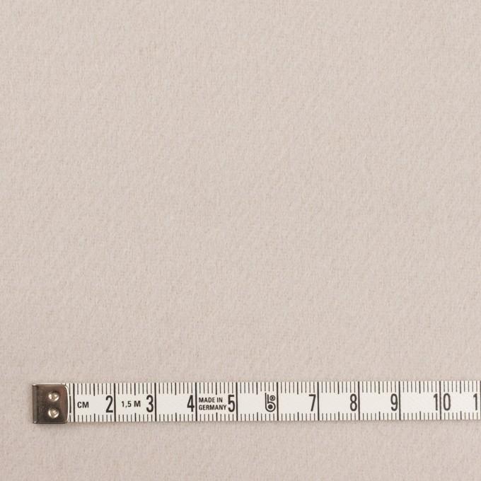 ウール×無地(オイスター)×Wフェイス・カルゼ イメージ4
