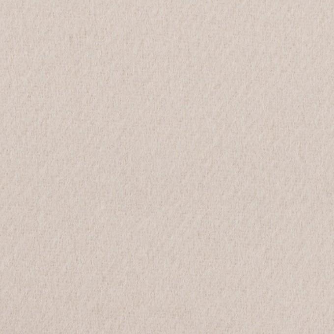 ウール×無地(オイスター)×Wフェイス・カルゼ イメージ1