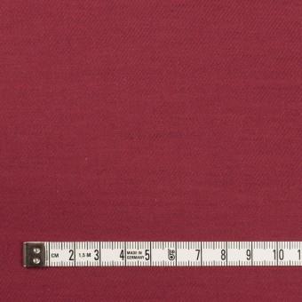 コットン&ウール×無地(バーガンディー)×ビエラ_全8色 サムネイル4