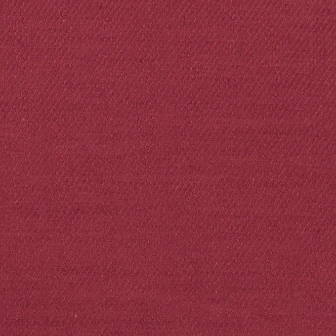 コットン&ウール×無地(バーガンディー)×ビエラ_全8色 イメージ1