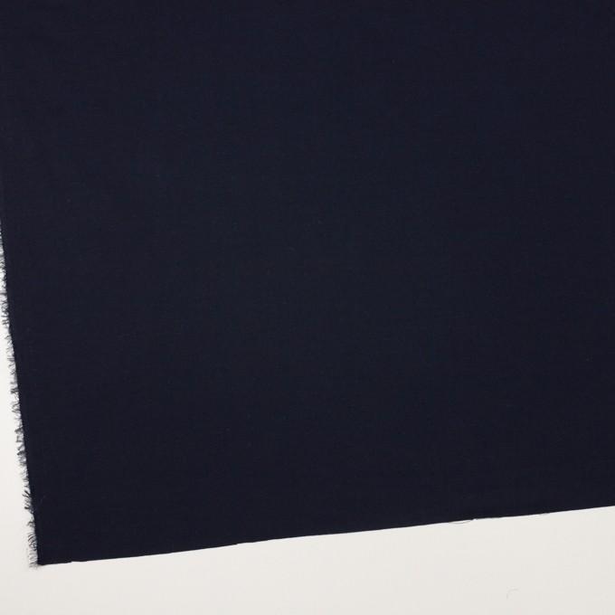 コットン&ウール×無地(ダークネイビー)×ビエラ_全8色 イメージ2