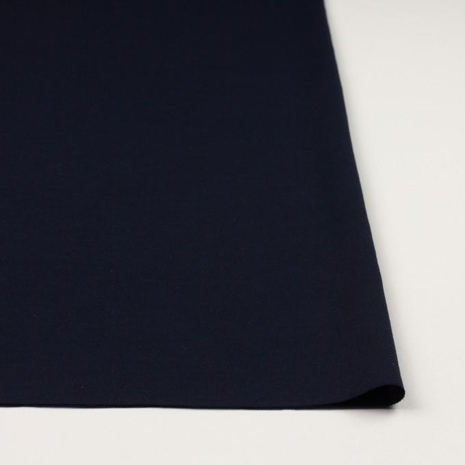 コットン&ウール×無地(ダークネイビー)×ビエラ_全8色 イメージ3