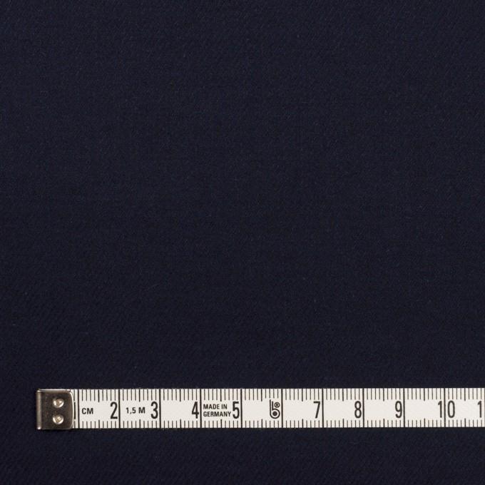 コットン&ウール×無地(ダークネイビー)×ビエラ_全8色 イメージ4
