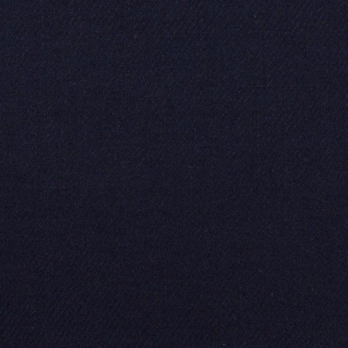 コットン&ウール×無地(ダークネイビー)×ビエラ_全8色 イメージ1