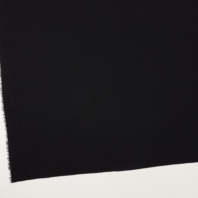 コットン&ウール×無地(ブラック)×ビエラ_全8色 イメージ2