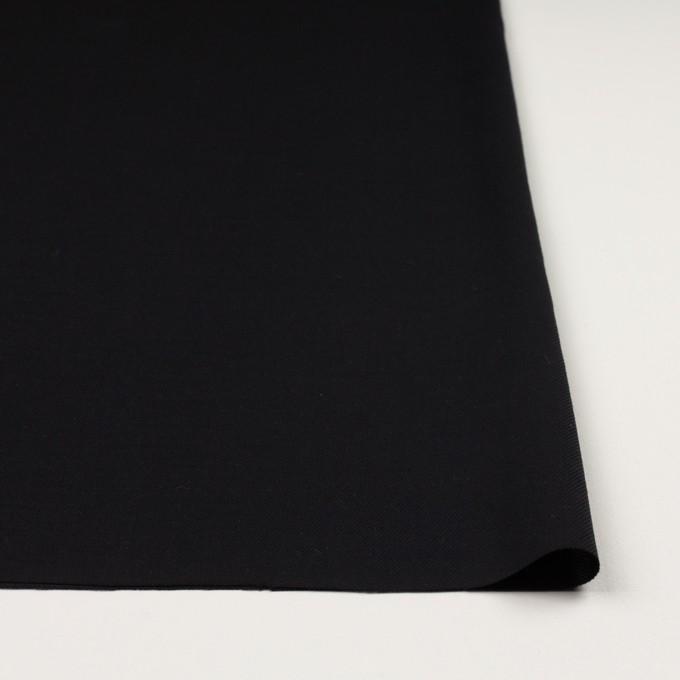 コットン&ウール×無地(ブラック)×ビエラ_全8色 イメージ3