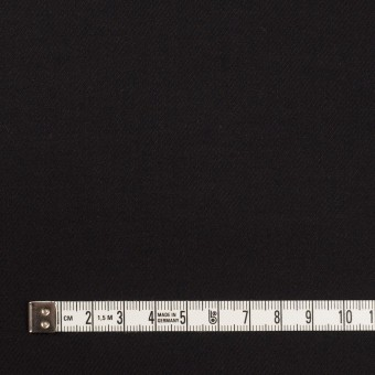 コットン&ウール×無地(ブラック)×ビエラ_全8色 サムネイル4