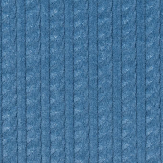 コットン×無地(アッシュブルー)×ドビーコーデュロイ イメージ1