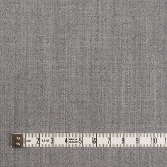 ウール&ポリウレタン×無地(グレー)×サージストレッチ サムネイル4